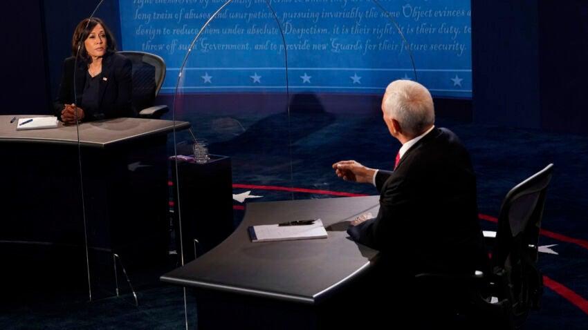 Pence y Harris discuten por COVID-19 en debate vicepresidencial